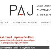 PAJ Laboratoire d'Intervention et Recherche